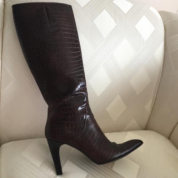 Via Spiga Shoes - Italian Genuine Leather Knee High Boots